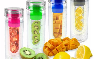 Fruit/Vegetable infused water – the benefits of carrying a flask to work