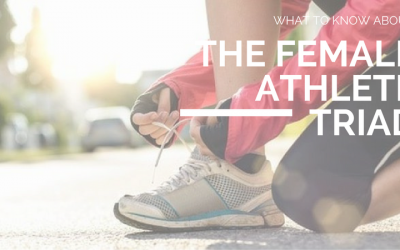 Disordered Eating, Eating Disorder and Female Athlete Triad